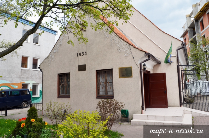 Фото Баптистская капелла и городской музей Зеленоградск