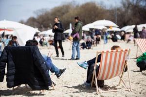 Пляж в парке - Море и песок журнал